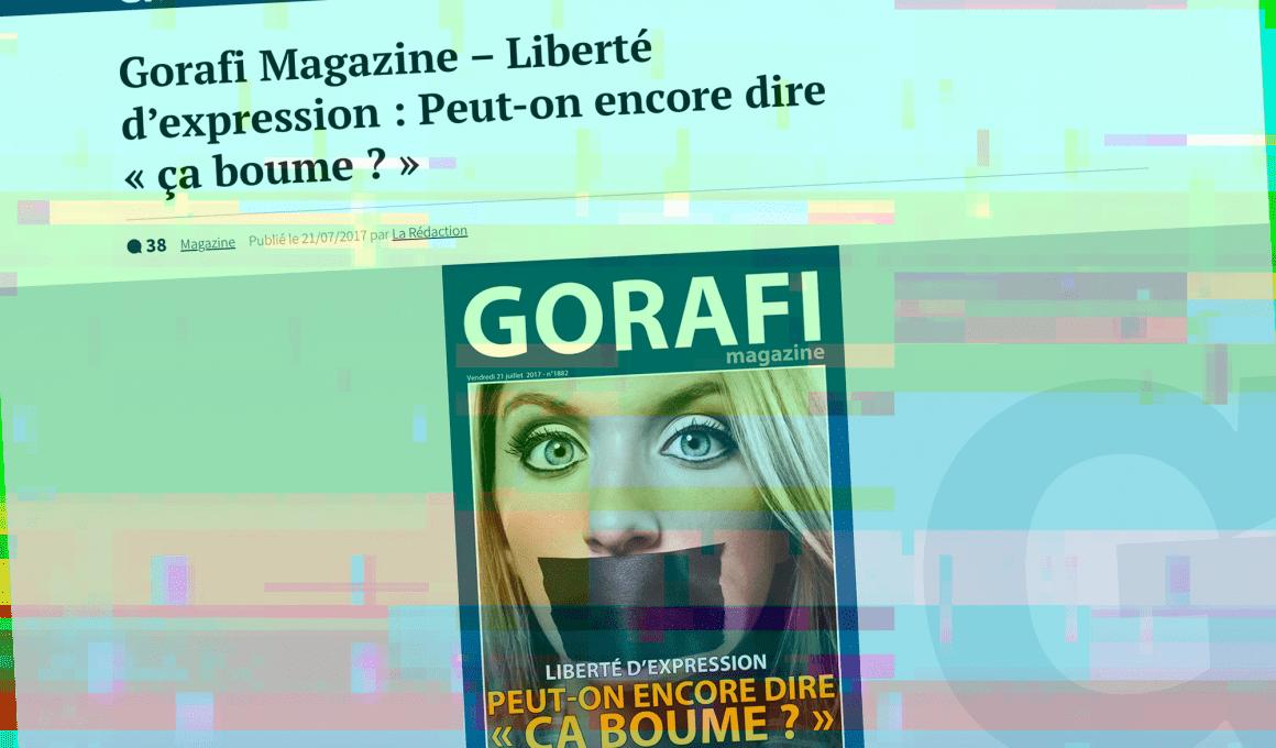 Le Gorafi - screenshot