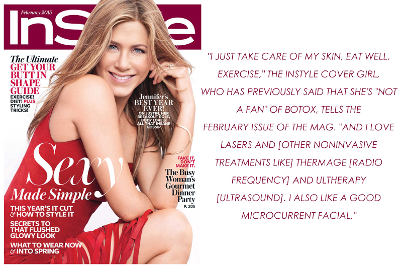 Jennifer Aniston Instyle Feb2015 Ultherapy