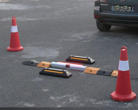 nder Vehicle Inspection System