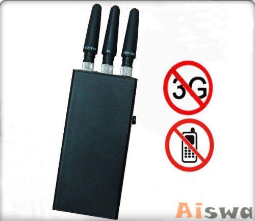 最高の携帯電話は、がっちりスマートフォンの周波数を妨害する!コンパクトでスリムなポータブルタイプ!CTSから携帯電話ジャマー Ai007842  1