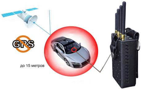 Портативный GPS подавитель сигнала СТS-Ai007916  3