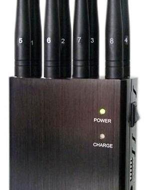 8-канальный блокиратор сотовых телефонов GSM, 3G, 4G,Wi-Fi, GPS подавитель
