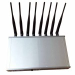 8 Antennas High Power 16W Mobile phone 3G 4G WiFi Jammer with Cooling Fan 1