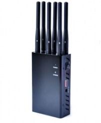 Подавитель 4G, Wi-Fi, GPS сигналов Троян (радиус действия до 20 метров)