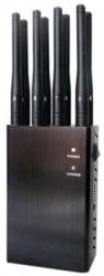 8-канальный блокиратор сотовых телефонов GSM, 3G, 4G,Wi-Fi, GPS