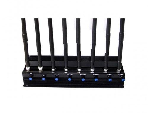 8 Antenli Ayarlanabilir Full Band cellphone Jammer
