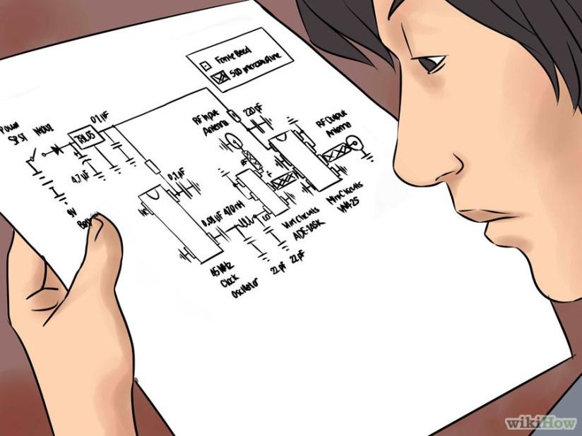 1 Comprende los principios de funcionamiento. Este bloqueador de señal de celular opera con la frecuencia GSM800, ya que la mayoría de los teléfonos móviles la utilizan para operar. El VCO seleccionado es un oscilador de barrido, el cual es muy efectivo pero puede resultar difícil de construir para los principiantes que no posean un buen equipo para pruebas de RF. Como fuente de ruido puedes usar un oscilador de reloj de 45MHZ, el cual es el puerto del oscilador local ubicado en la mezcladora del mini-circuito. También hay una red de adaptación de impedancia para que la señal del oscilador local pase por ella. Se usa para adecuar las impedancias de los osciladores y del puerto de la mezcladora. La entrada de RF (que es el puerto de la mezcladora) se conecta a la primer antena de celular de 800MHz, y la salida de RF es enviada al amplificador del mini-circuito. Este amplificador incrementa la potencia de salida en 15-16 dbm. Luego, la señal amplificada se envía a la segunda antena del celular.