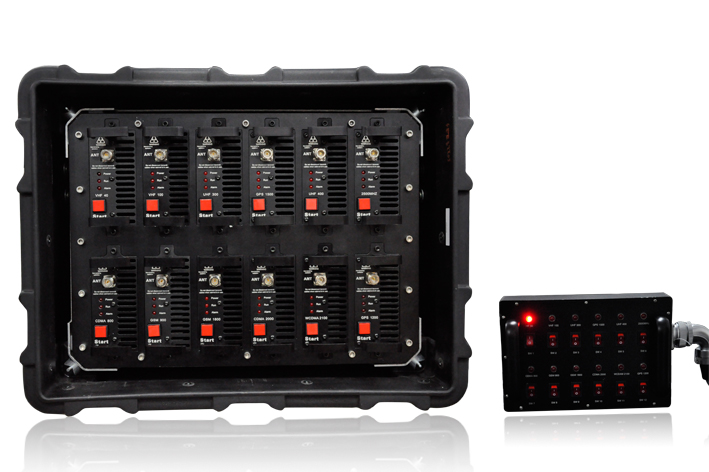 High Power 868W Fully Integrated Broad Band Jamming System3
