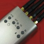Portable Mini Mobile Signal Jammer (GSM/CDMA/DCS/PHS/3G/TD-SCDMA)