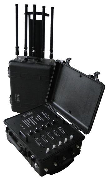 Portable Pelican Case RF Bomb Cellphone Signal Jammer GPS WiFi Blocker2