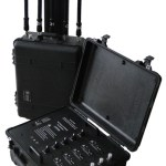 Portable Pelican Case RF Bomb Cellphone Signal Jammer GPS WiFi Blocker