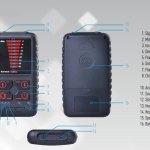 Portable Spy Camera Detector Hidden Bugs Wireless Signal Detector