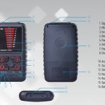 Portable Spy Camera Detector Hidden Bugs Wireless Signal Detector