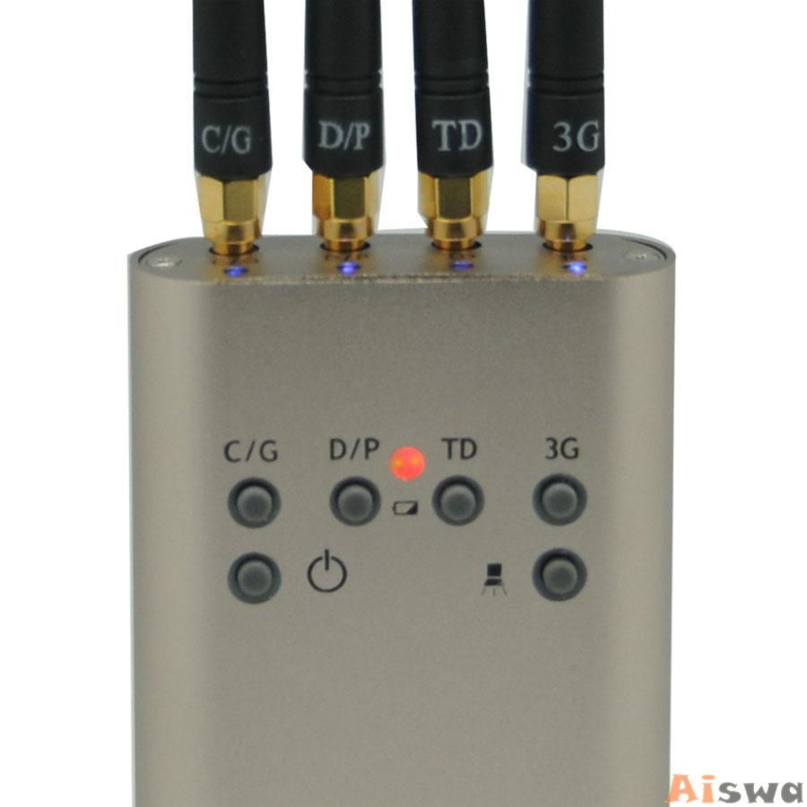 Portable Mini Mobile Signal Jammer (GSM CDMA DCS PHS 3G TD-SCDMA) 3