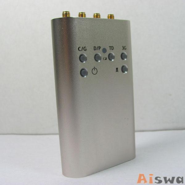 Portable Mini Mobile Signal Jammer (GSM CDMA DCS PHS 3G TD-SCDMA) 5