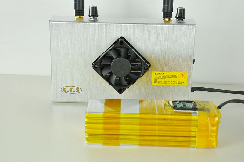 Adjustable WiFi Jammer with Built-in battery