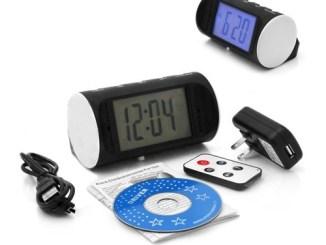 Alarm Clock with Camera