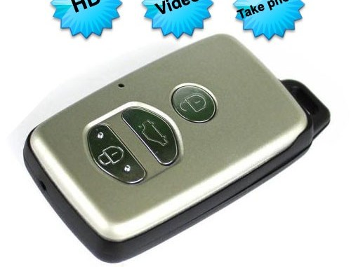 Car Key Camera Video