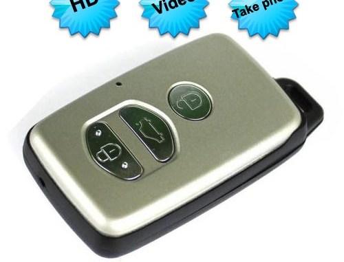 Car Key Camera Video