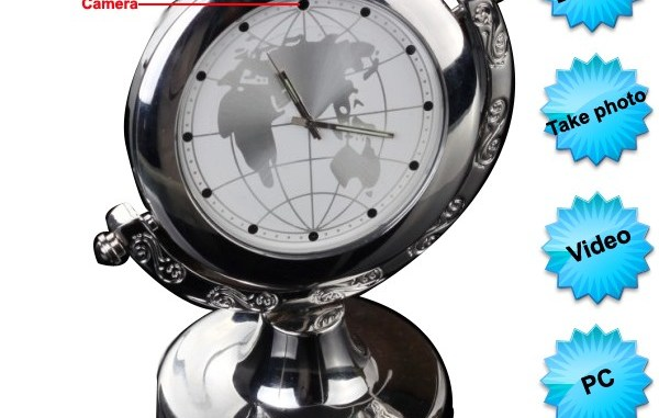 Mini DVR Table Clock