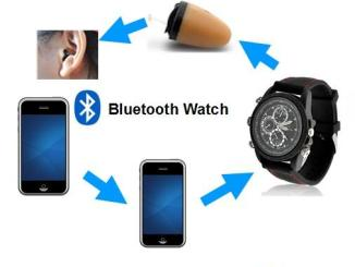 Undetectable Micro Bluetooth watch
