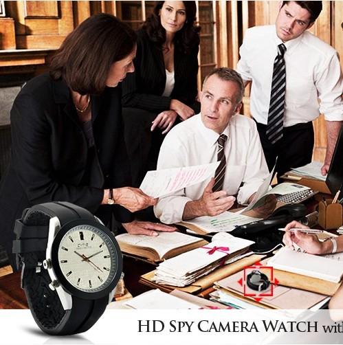Analog Watch with HD Spy Camera 5