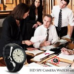 Analog Watch with HD Spy Camera