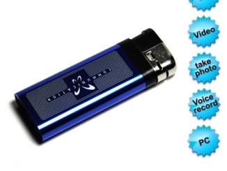 Blue Fake lighter camera