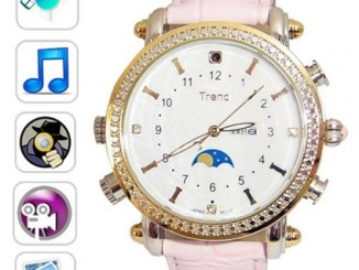 Lady's spy watch camera