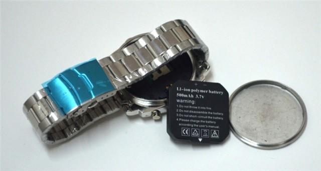 Steel Chain Watch Camera 1