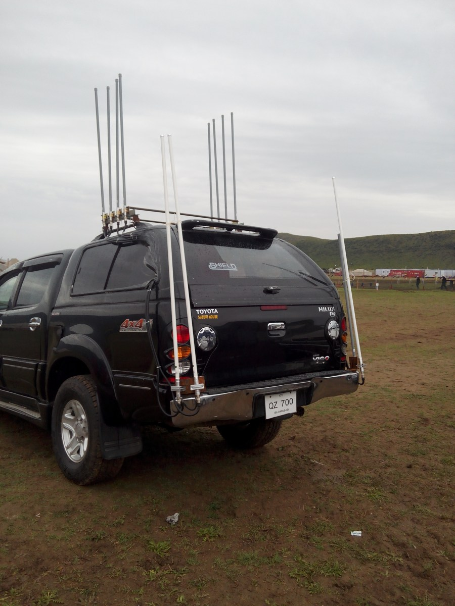 Jamming Remote-controlled signal within 100 meters