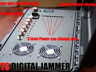310~470 drone jammer