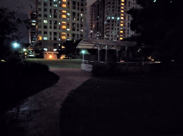 Nokia 5.3 Night mode sample