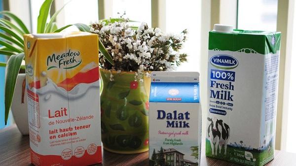 3 loại sữa tươi đầu tiên các bà bầu chọn lựa