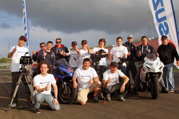 Das Team der Suzuki GSX-R Challenge 2013