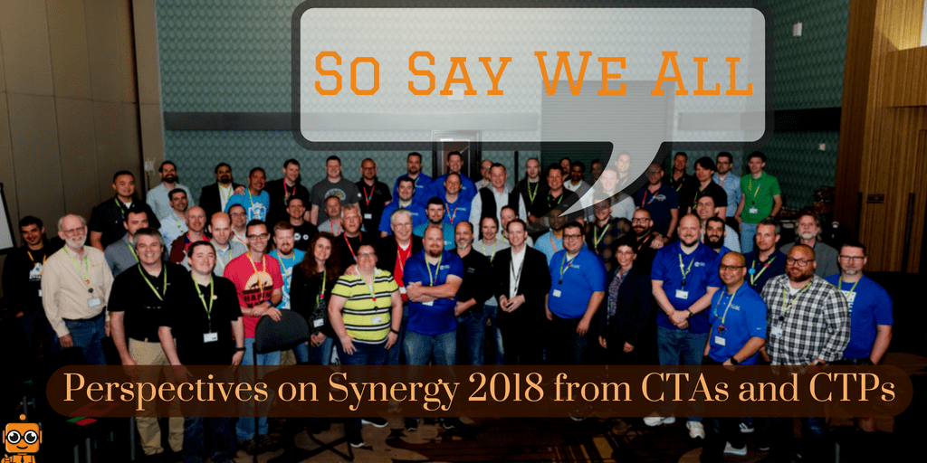 Citrix Synergy 2018 Perspectives: CTA Benjamin Crill