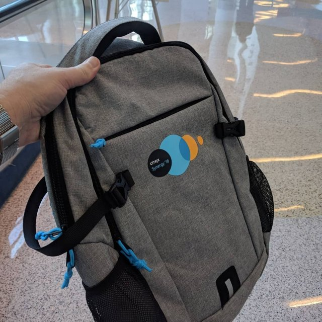 The 2018 Citrix Synergy Backpack