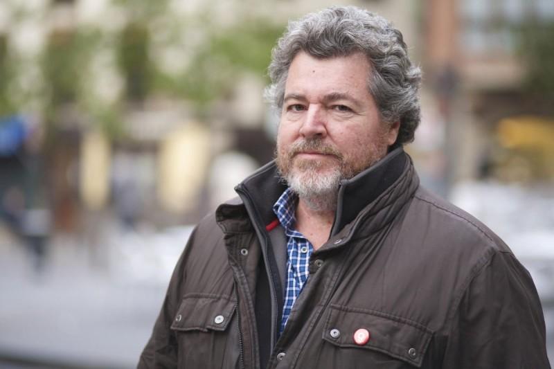 Juan López de Uralde, Coportavoz de EQUO y candidato de Podemos.