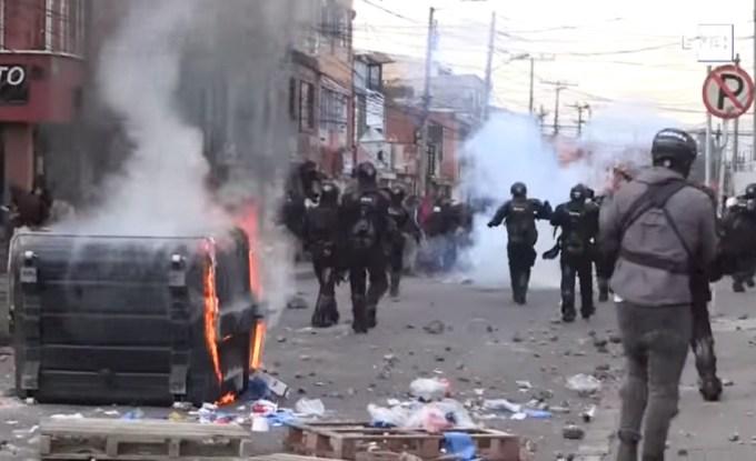 La brutalidad policial en Colombia