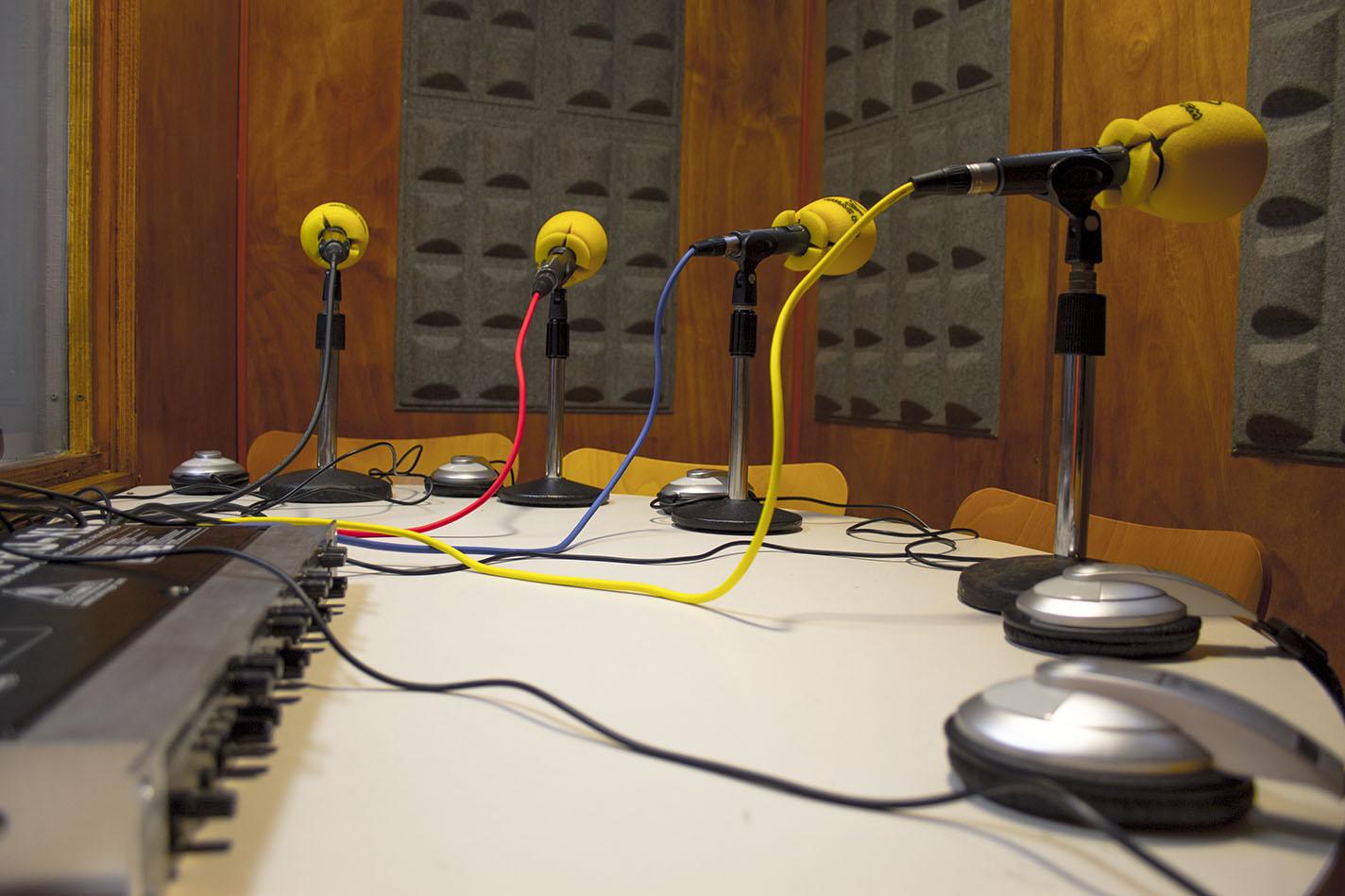 Estudio de grabación Alexandre Bóveda