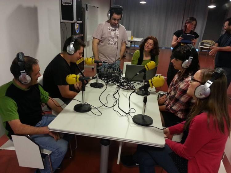 CUAC- obradoiro de radio 2015