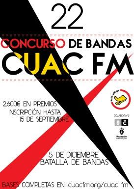 XXII Concurso CUAC FM Bandas