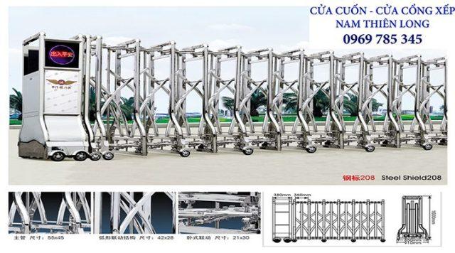 35 - Sửa chữa cửa cổng xếp tại Bình Dương