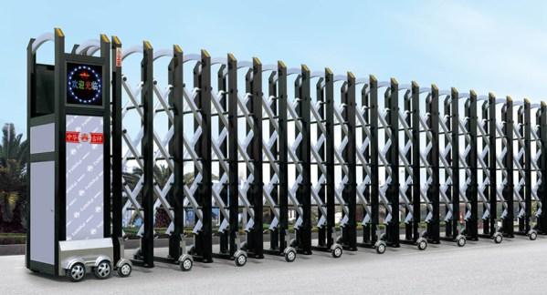 Báo giá cửa cổng xếp nhôm tại Bình Phước