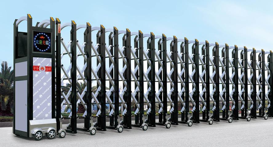 2011924230407 - Lắp đặt cửa cổng xếp tại Long Thành Đồng Nai