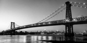 2MS3267 - Michael Setboun - Queensboro Bridge and Manhattan from Brooklyn, NYC