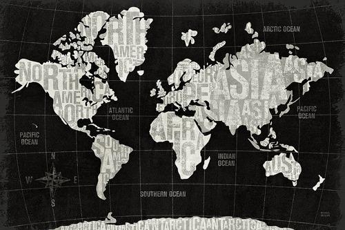 W12769 - Michael Mullan - Modern World Black {H7 - Mapas}