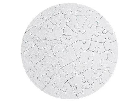 Puzzle redondo de41 Piezas. para sublimación
