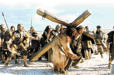 La Pasión de Cristo. Cristo llevando la Cruz