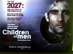 Hijos de los hombres cartel película